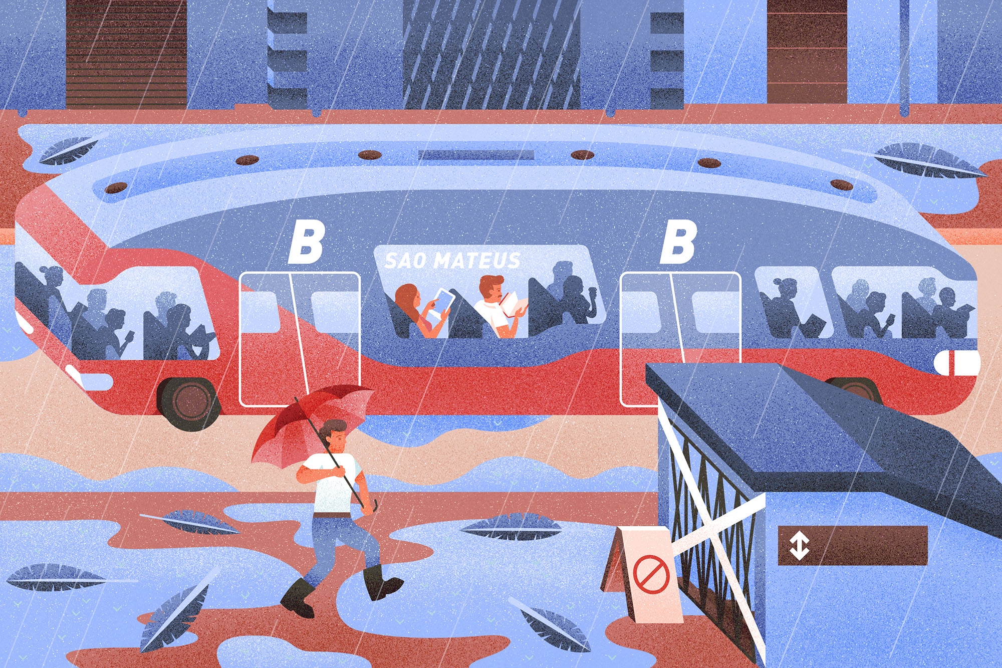 They're flexible too. When a flood hit last year and knocked out half the subways in the city, Jorge didn't miss a day of work because software trains could easily be redeployed to avoid disruptions.